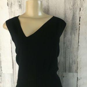 Elie Tahari Dresses - ELIE TAHARI Annika Black Asymmetric Midi Dress